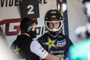 Opening moto error costly for Beaton in final Kegums outing