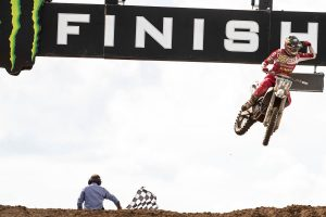 Beaton able to overcome nerves in breakout MX2 moto win