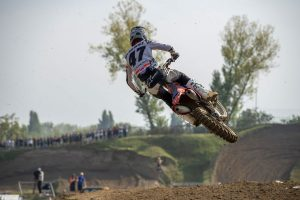 Seventh in Mantova MX2 moto two a career-best for Malkiewicz