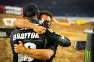 Elated Brayton celebrates first Muc-Off Honda US podium