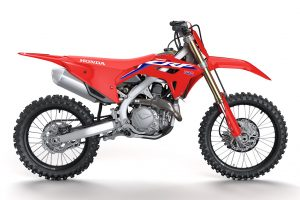 Detailed: 2022 Honda CRF450R range