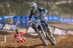 Transferring qualifying speed key for MX1 rookie Purvis