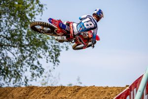 Bike settings off for Lawrence in RedBud podium